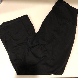 Black leggings. Size medium